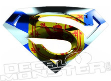 Nova Scotia Flag Super Man  Decal DM