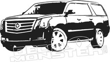 Cadillac Escalade Wall Decal DM