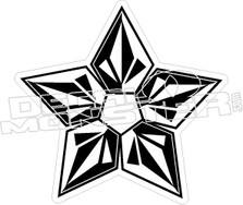 Volcom Star Decal Sticker