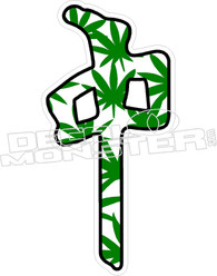 RDS Pot Leaf Decal Sticker
