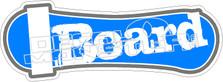 I Board Decal Sticker