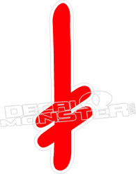 Death Wish 1 Decal Sticker
