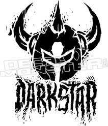 DarkStar Decal Sticker