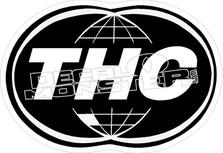 THC World Decal Sticker
