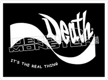 DEATH Its The Real Thing Decal Sticker