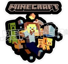 Minecraft Crew Decal Sticker