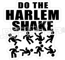 Do The Harlem Shake Decal Sticker