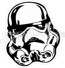 Star Wars3 Storm Trooper Decal Sticker