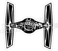 Star Wars30 Tie Fighter Decal Sticker