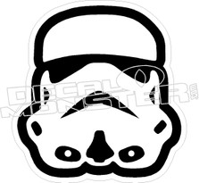 Star Wars Storm Trooper Decal Sticker