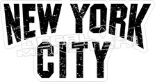 New York City Decal Sticker