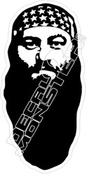 Duck Dynasty3 Willie Decal Sticker