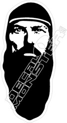 Duck Dynasty4 Jase Decal Sticker