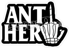 Anti Hero Decal Sticker