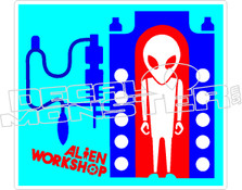 Alien Worhshop Factory Decal Sticker
