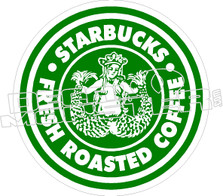 Starbucks Twin Tale Decal Sticker