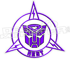 Nest Transformers Decal Sticker