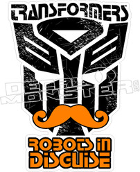 Transformers Robots In Disguise Decal Sticker