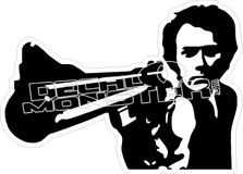 Dirty Harry Decal Sticker