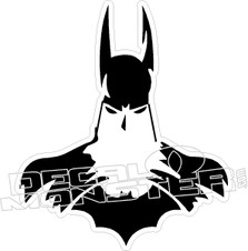 Batman 5 Decal Sticker
