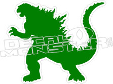 Godzilla 2 Decal Sticker