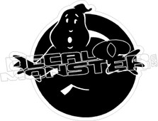 Ghost Busters Decal Sticker