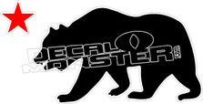 Cali Bear 2 Decal Sticker