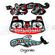Organika Skateboards Decal Sticker