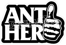 Anti Hero Thumb Decal Sticker