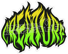 Creature Decal Sticker