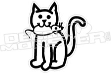 RDS Cat Decal Sticker