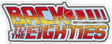 Back To The Eighties Decal Sticker