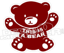 This is a Bear Decal Sticker