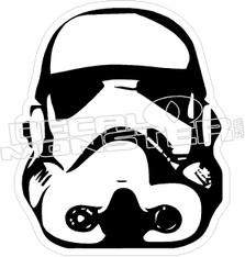 Storm Trooper 7 Decal Sticker