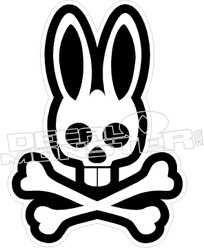 Psycho Bunny Decal Sticker