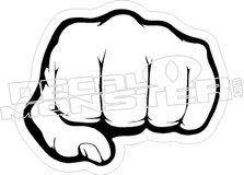 Fist Decal Sticker