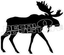 Moose Decal Sticker