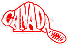 Canada Beaver Decal Sticker