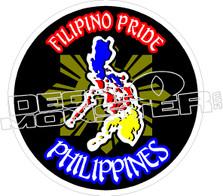 Filipino Pride Decal Sticker