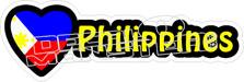 Love Philippines Decal Sticker