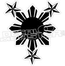 Philippines 10 Decal Sticker