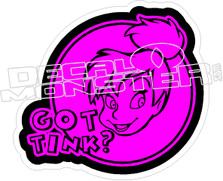 Got Tink Decal Sticker