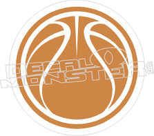 Basketball Decal Sticker