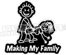 Making My Family2 Decal Sticker