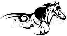 Tribal Horse Decal Sticker