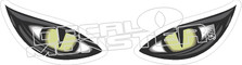 Cat Eyes 2 Decal Sticker
