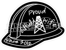 Proud Oilfield Wife Decal Sticker