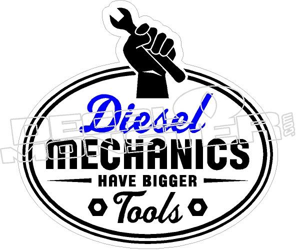 Diesel Mechanic Tools >> Diesel Mechanics Tools Decal Sticker Decalmonster Com