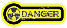 Danger Decal Sticker