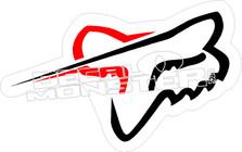 Fox 17 Decal Sticker